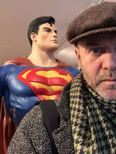 Superman et Jacques Bonnaffé