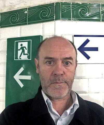 Jacques Bonnaffé dans le métro