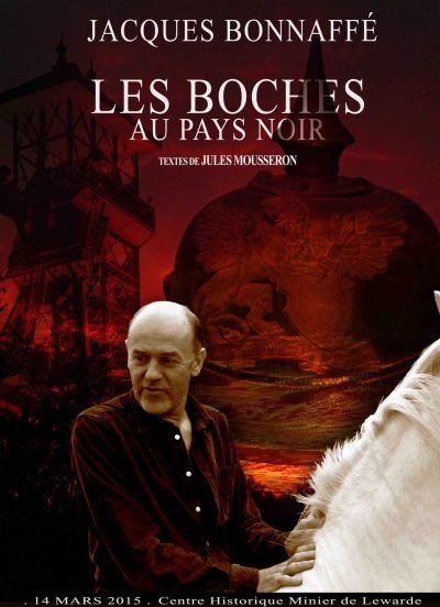 Affiche, Les Boches au Pays Noir