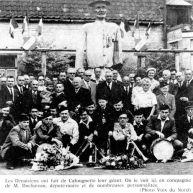 Cafougnette géant de Denain, portrait de groupe