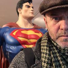 Superman et Jacques Bonnaffé