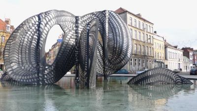L'anneau de Möbius de Marco Slinckaert – photo Jean Lespinasse