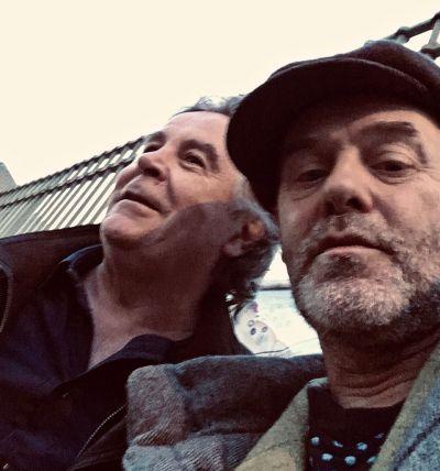 Dominique Sampiero et Jacques Bonnaffé