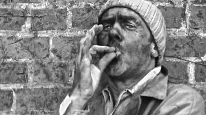 Jacques Bonnaffé en gueule noire